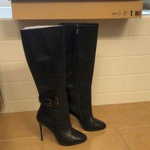Black leather MICHAEL Michael kors Edna boot
